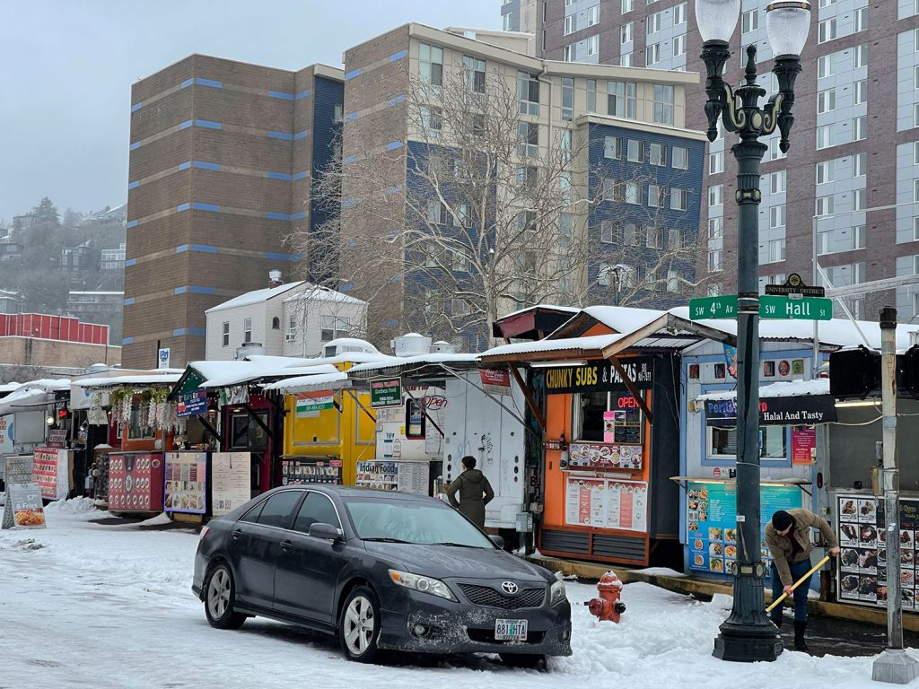 Portland vegan food carts